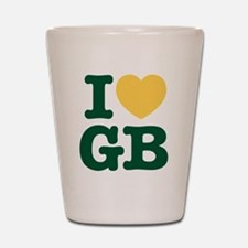 iheartgb2 Shot Glass