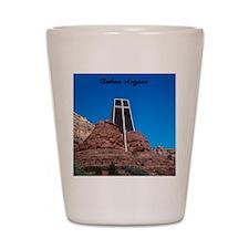 Chapel of the Holy Cross Sedona Arizona Shot Glass
