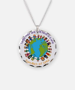 Together_world_blk Necklace