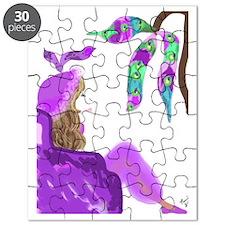 Genie Lavendar Chair Puzzle