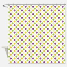 Colorful Polka Dots Shower Curtain