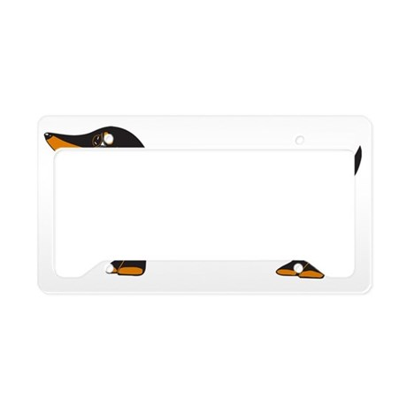 Dash logo 10x10_edited-1 License Plate Holder