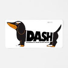 Dash logo 10x10_edited-1 Aluminum License Plate