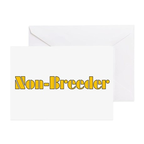 Non-Breeder Greeting Cards (Pk of 10)