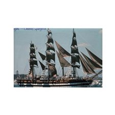 800px-Amerigo_vespucci_1976_nyc_a Rectangle Magnet