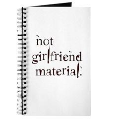 Not girlfriend... Journal