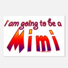 i am going to be a mimi r Postcards (Package of 8)