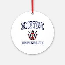 MCINTOSH University Ornament (Round)
