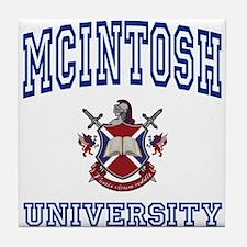 MCINTOSH University Tile Coaster