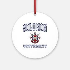 SOLOMON University Ornament (Round)