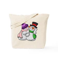 Snow Lovers Tote Bag