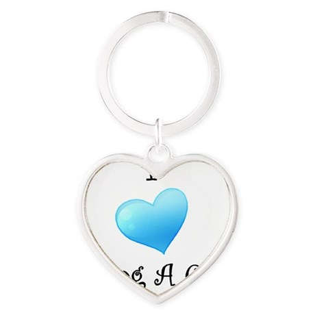 gigi10 Heart Keychain