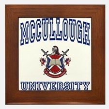 MCCULLOUGH University Framed Tile