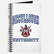 MCCULLOUGH University Journal