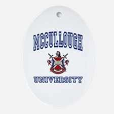 MCCULLOUGH University Oval Ornament