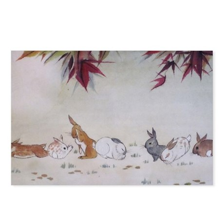Rabbit Nap Postcards (Package of 8)