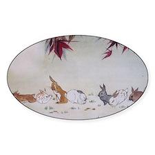 Rabbit Nap Decal