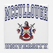 MCCULLOUGH University Tile Coaster