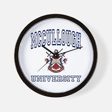 MCCULLOUGH University Wall Clock
