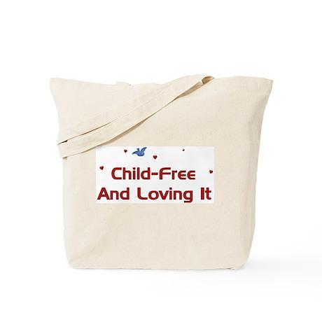 Child Free Tote Bag