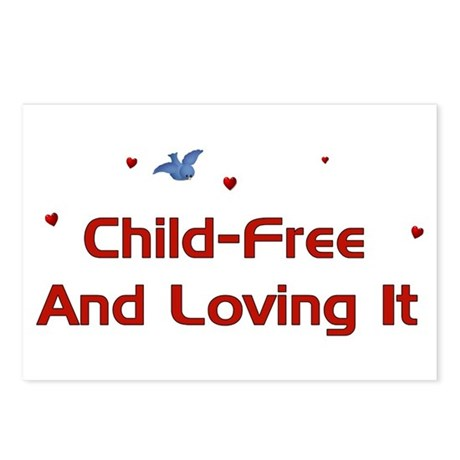 Child Free Postcards (Package of 8)