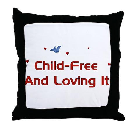 Child Free Throw Pillow