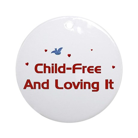 Child Free Ornament (Round)