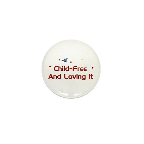 Child Free Mini Button