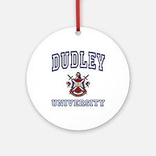 DUDLEY University Ornament (Round)
