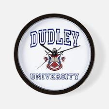 DUDLEY University Wall Clock