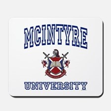 MCINTYRE University Mousepad