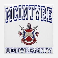 MCINTYRE University Tile Coaster