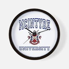 MCINTYRE University Wall Clock