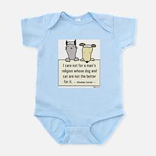 Lincoln's Religion Infant Bodysuit