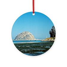 Morro-Bay-221-24-800-corr-cr orn Round Ornament