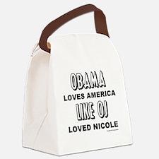 obamaoj Canvas Lunch Bag