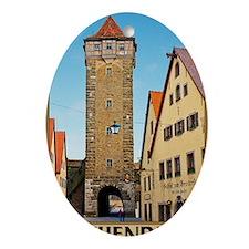 Rothenburg od Tauber - Rödertor Oval Ornament