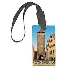 Rothenburg od Tauber - Rödertor Luggage Tag