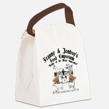 smoothie-4 Canvas Lunch Bag