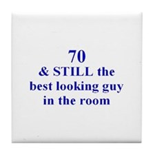 70 still best looking 2 Tile Coaster