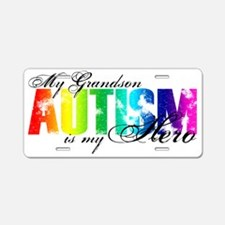 grandson Aluminum License Plate