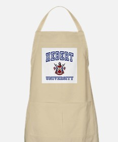 HEBERT University BBQ Apron