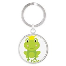 frog prince Round Keychain