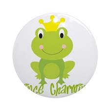 frog prince Round Ornament