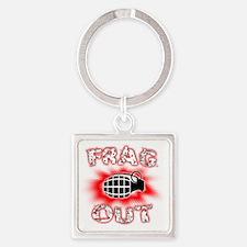 fragou2Transparant Square Keychain