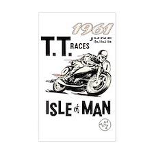 isle of man tt races (1961) Stickers