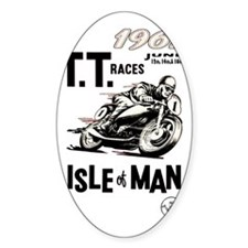 isle of man tt races (1961) Decal