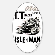 isle of man tt races (1961) Decal