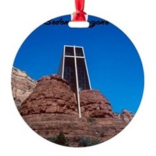 Chapel of the Holy Cross Sedona Ari Ornament