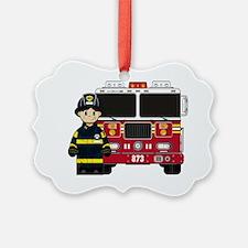 Fireman Pad1 Ornament
